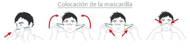 Como debemos colocarnos la mascarilla