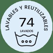 Logo 74 lavados Mascarillas